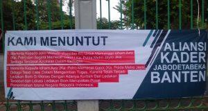 Aliansi Kader Jabodetabeka Banten Minta Kapolri Copot Kapolda Metro Jaya